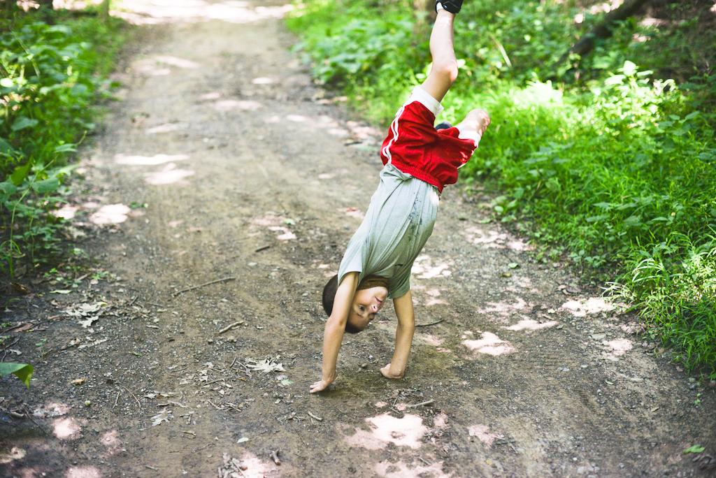 kid doing cartwheel pittsburgh